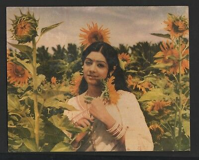 "Sridevi    Color  Bollywood   Press  Photo  Size  8.25 ""  X  10.25 """