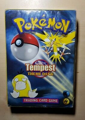 Pokemon Tempest Theme Pokemon Card Deck Brand New & Sealed