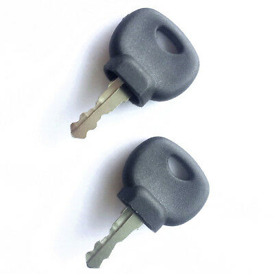 (2) Bomag and Hamm Roller and Compaction Equipment Ignition Keys  14707