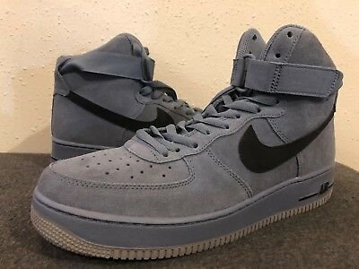 low priced 56870 9ad17 Nike Air Force 1 High  07 Basketball Mens Shoes 10.5 Blue Black 315121 415