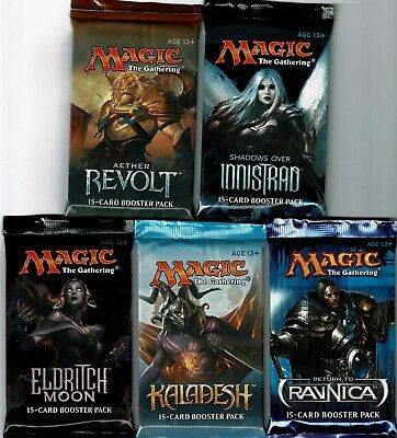 Magic The Gathering  10 Pack Lot  Return To Ravnica - Shadows Over Innistrad +++