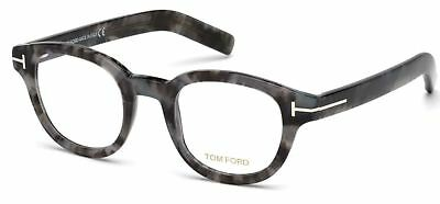 b941b3c81f Tom Ford TF 5429 Eyeglasses 55A Frame FT 5429 Round Gray Authentic New 45mm  Rx