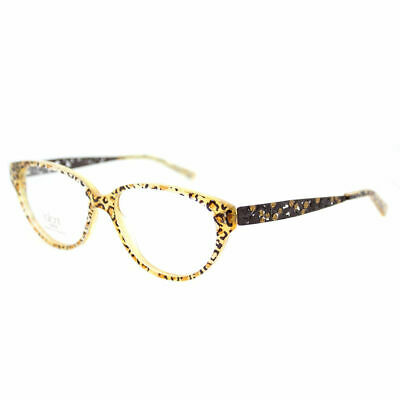 e8cbe2f583e Authentic Cazal 623 065 Legends Crystal Gold Plastic Square Eyeglasses 57mm.