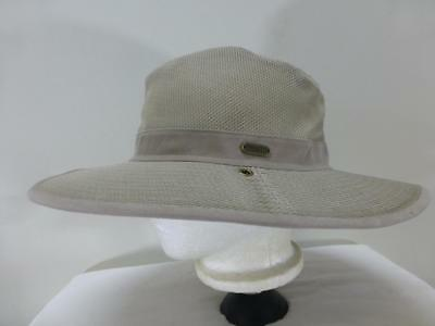 59a6eed7f325c New Duluth Trading Co bucket Hat cap crusher vented fishing mesh lid mens  Large