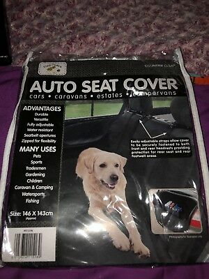 Universal/Pet Car Seat Cover Protective Durable Water Resistant 146 X 143cm