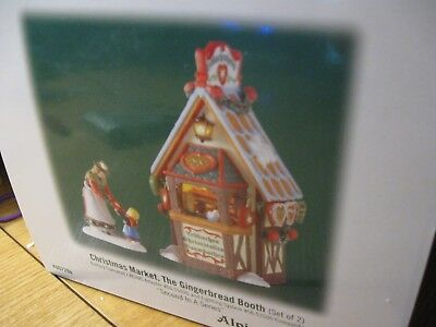 Alpine Village Series - Christmas Mart, The Gingerbread Booth