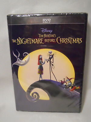The Nightmare Before Christmas (DVD, 2018, 25th Anniversary Edition)