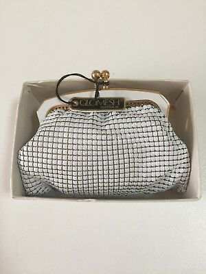Glomesh Purse - white - never used