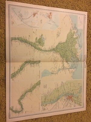 old world atlas Plate Map Lower Egypt