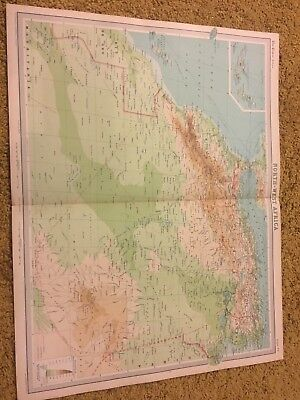 old world atlas Plate Map North West Africa