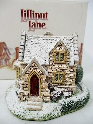Lilliput Lane Christmas Collection The Gingerbread Shop 1993 New In Box