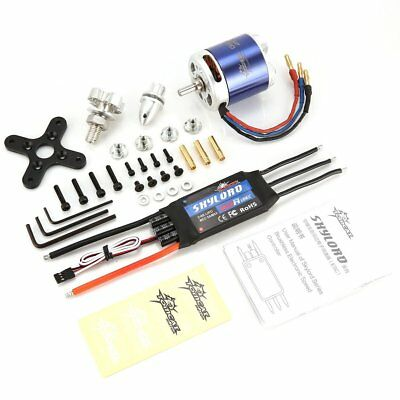 TomCat TC-G 5030 KV400 Motor with Skyload 80A ESC for RC Fixed Wing Drone DA