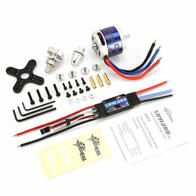 TomCat TC-G 5020 KV680 Motor with Skyload 50A ESC for RC Fixed Wing Drone DA