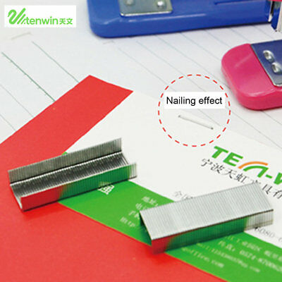 Pack Tenwin 2102 9*5mm10# 26/6 Staples 1000Pcs Stationery Office Accessories QV