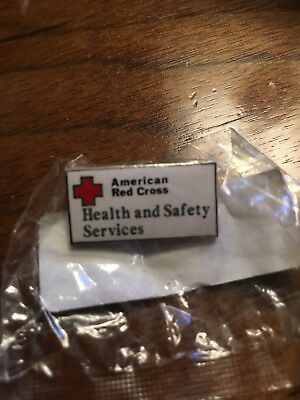 American Red Cross Health And Safety Services Pin - Unopened