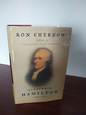 Alexander Hamilton Ron Chernow 1st Hardcover with signed bookplate