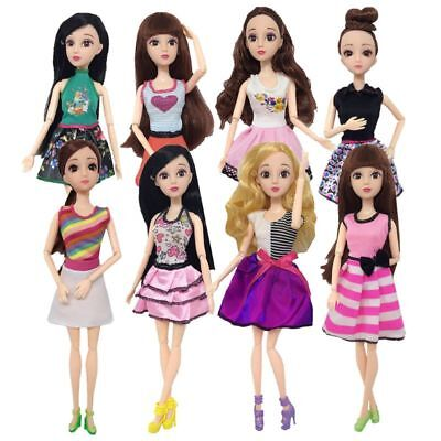 Doll Clothes Handmade Fashion Dress For Barbie Doll Girls Toy Gift Newest