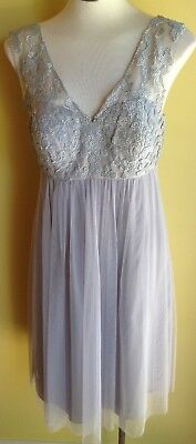 George Madeline Beaded Dress Size 12 NWT RRP $639.00