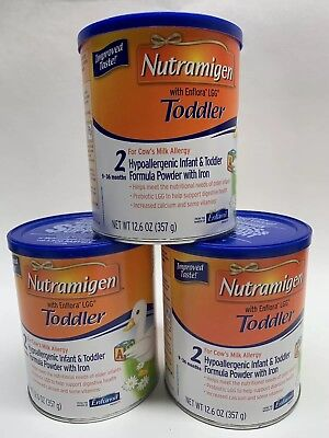 NEW Mead Johnson Nutramigen Toddler with Enflora LGG 12.6 oz, 1720 Cal, 1 Can