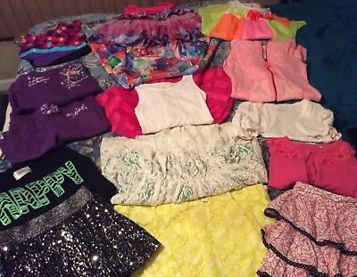 Little Girls 5/6, 6X, 7, Lot Of Clothes For The Litlle Girl Who Loves Dresses!