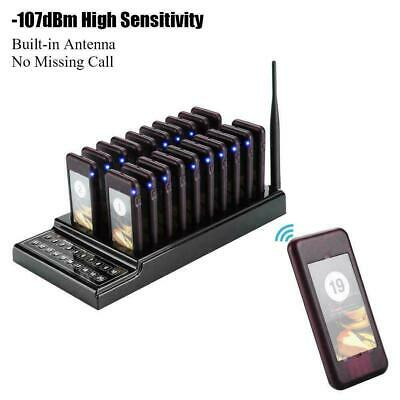 Electronic Coaster Pager System for fast food restaurant fast-service calling US