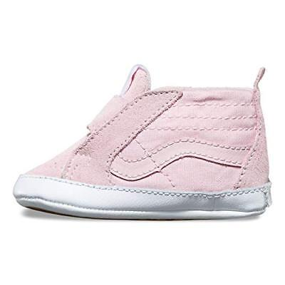 6f0b1a9e874 VANS SK8 INFANT Pink White Baby Girls Crib Shoes New Born Sizes ...