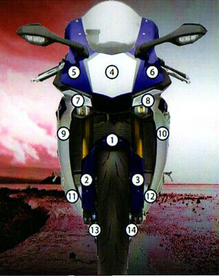 Eazi-Guard Stone Chip Paint Protection Film for Yamaha YZF-R1