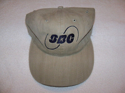 New Sbc (Southwestern Bell Corp) Logo Tan Hat With Blue Letters