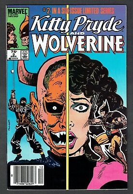 Kitty Pryde and Wolverine #2 Marvel Comics VF+ 1984 Rare Canadian Price Variant