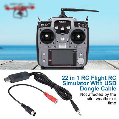 22 In 1 Parts Simulater RC Flight Drones Transmitter Racing For G7 Phoenix 5.0