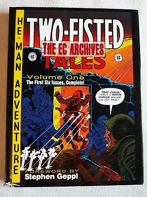 VF TWO-FISTED TALES VOL. ONE HC Oversize