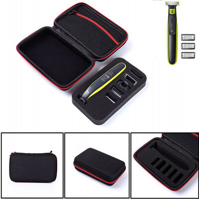 US Carrying Case for Philips Norelco OneBlade Electric Shaver Replacement Blades