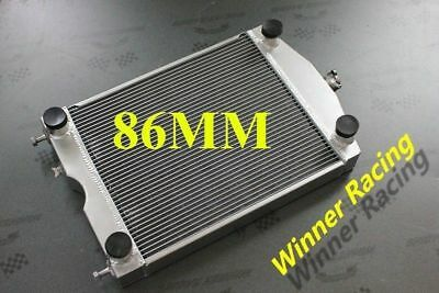 Aluminum Radiator For Ford 2N/8N/9N Tractor W/Flathead V8 Engine 3 Row 86MM Core