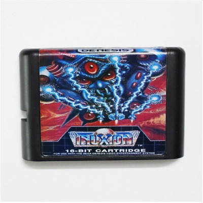 Truxton 16 bit SEGA MD Game Card For Sega Mega Drive For Genesis