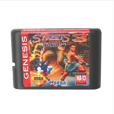 Street Of Rage 3 16 bit SEGA MD Game Card For Sega Mega Drive For Genesis