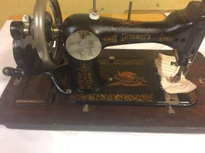 Rare Primimer's Sewing Machine Hand Crank Vintage USA working