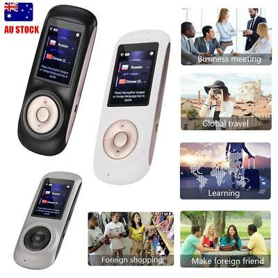 T2S 2.4inch Portable Smart Wireless Travel Real Time 52 Languages Translator AU