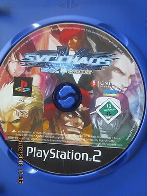 SNK vs Capcom  -  PS2 - Playstation 2 - pal