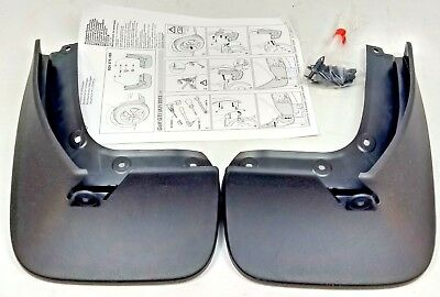 New Genuine Vw Golf Mk7 Gti Rear Accessory Mudflaps Set