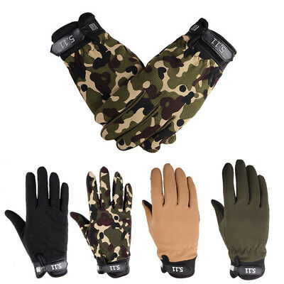 Outdoor Cycling Winter Wear Army Military Tactical Gloves Outdoor Full Finger