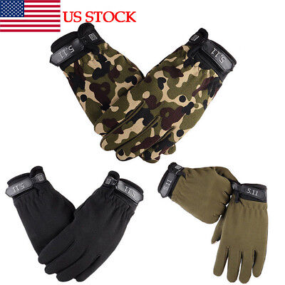 US Winter Thermal Warm Lined Gloves Men Women's Mechanics Wear Work Driving Gift