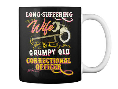 Fashionable Cute Correctional Officers Wife - Long-suffering Of Gift Coffee Mug