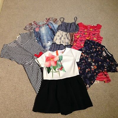 girls bundle age 6-8 yrs , dresses and play suit