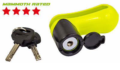 Mammoth Motorcycle Scooter Motorbike Motocross Mx Brake Disc Lock 10Mm Steel Pin