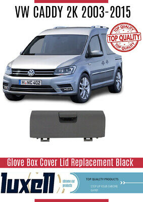 VW Caddy 2K 2003-2015 Glove Box Cover Lid  Replacement BLACK