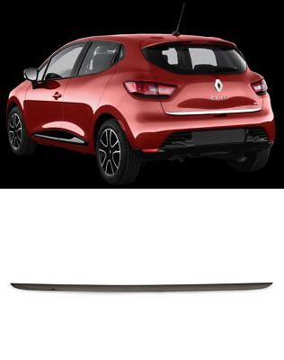 2012 RENAULT CLIO IV HB Chrome Rear Trunk Tailgate Lid Molding Trim S.Steel