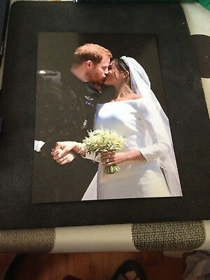 Royal Postcard - Duke and Duchess of Sussex on their Wedding Day
