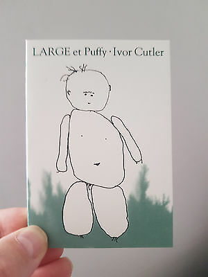 'Large et Puffy' by Ivor Cutler. New Book. ISBN: 0-902771-70-1