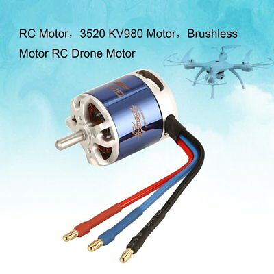 TomCat 3520 KV980 7T Motor with Skyload 50A ESC for RC Fixed Wing Drone DA