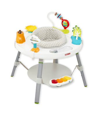 Skip Hop 3 Stage Activity Center Explore More Sit Swivel Bounce Play Ages 4mo+